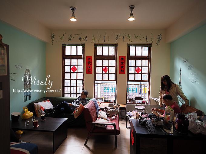 【食記】台北大同。捷運北門站:大稻埕217號公館@寵物友善文創咖啡店 @WISELY's 拍拍照寫寫字