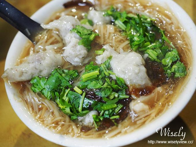 【食記】台北中正。捷運古亭站:同安街麵線羹@臭豆腐、肉羹、麵線&(必吃)肉圓 @WISELY的拍拍照寫寫字