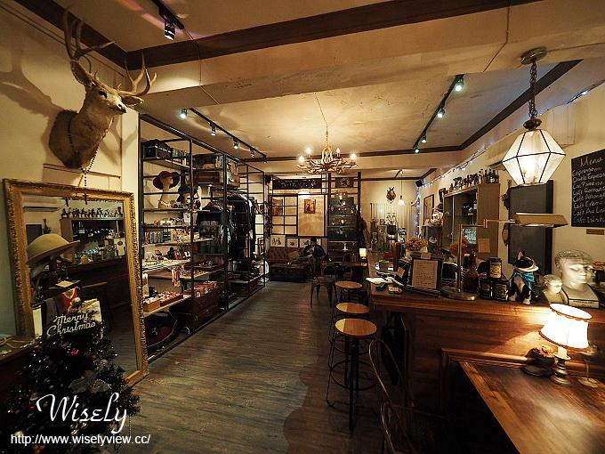【食記】台北大同。捷運中山站:Modern Mode & Modern Mode Café(小摩登咖啡)@巴黎古董精品咖啡館 @WISELY的拍拍照寫寫字