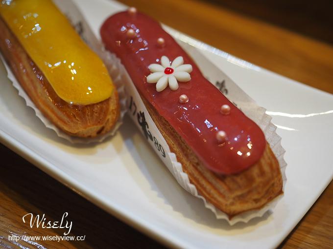 【食記】台北中正。捷運忠孝新生站:1789 Café@法籍廚師當日現作的美味閃電泡芙 @WISELY的拍拍照寫寫字