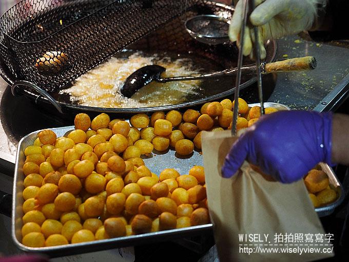 【食記】台北大安。捷運信義安和站:通化街夜市美食@格登炸雞、上海湯包、地瓜球&芋頭球 @Wisely的拍拍照寫寫字