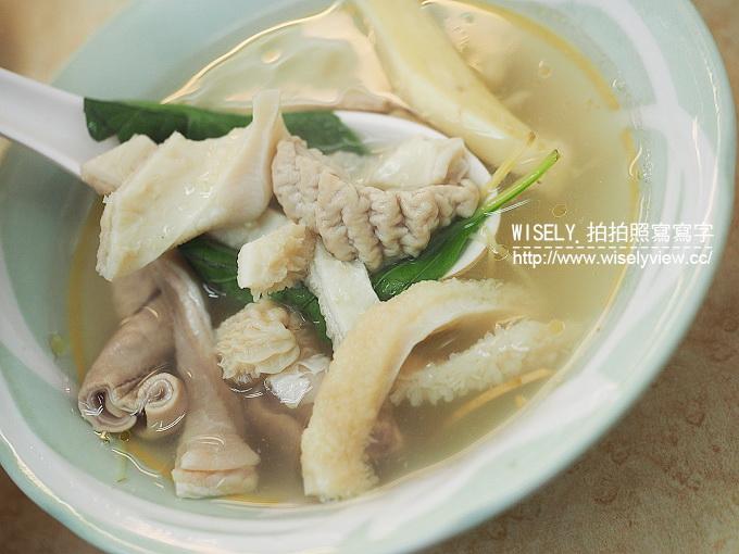 【食記】台北中正。捷運古亭站:南昌路牛雜@近一甲子的在地老店小吃 @WISELY的拍拍照寫寫字