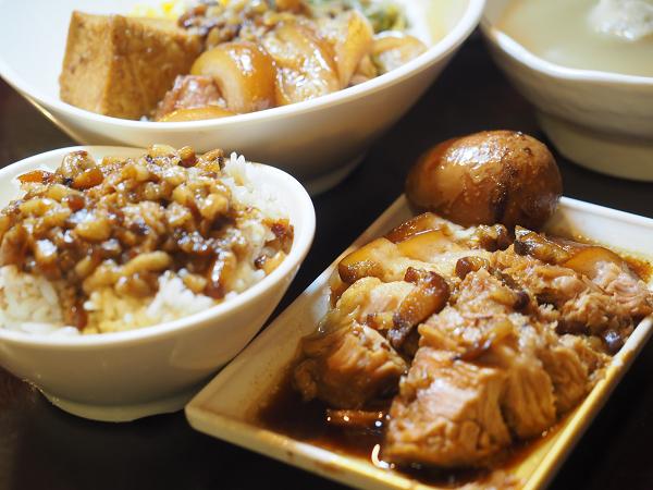 【食記】新北永和。捷運永安市場站:蹄神豬腳專賣@特色太胸肉、腿庫飯、魯肉飯 @Wisely的拍拍照寫寫字