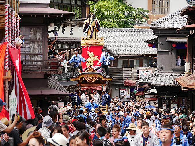 【旅行】日本千葉縣。成田祇園祭:傳承300年的歷史,結合山鉾車與舞蹈的盛夏祭典 @WISELY's 拍拍照寫寫字